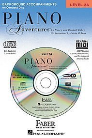 Piano Adventures, Level 2A Lesson Set (1 Book, 1 CD, Lesson Book and Lesson Book CD)