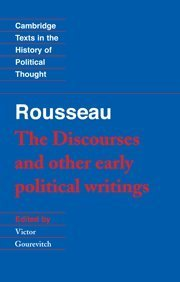 The Discourses & Other Early Political Writings