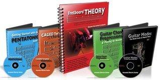 Fretboard Theory Book and 4 DVD Bundle 25% Off Desi Serna