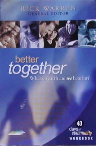 Better Together by Rick Warren