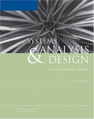 Systems analysis design in a changing world by john w satzinger 245178 fandeluxe Image collections