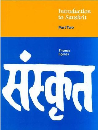 Introduction to Sanskrit, Part 2