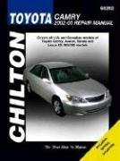 Toyota Camry--2002 through 2005