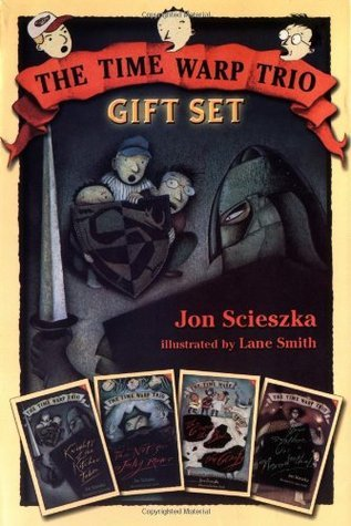 Time Warp Trio Gift Set, Books 1-4 (Knights of the Kitchen Table; The Not-So-Jolly Rodger; The Good, the Bad, and the Goofy; Your Mother Was a Neanderthal)