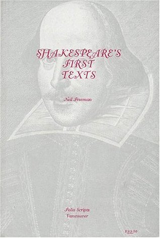 Shakespeare's First Texts: Folio Scripts
