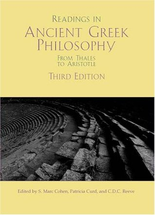 Ebook Readings In Ancient Greek Philosophy: From Thales To Aristotle by S. Mark Cohen PDF!