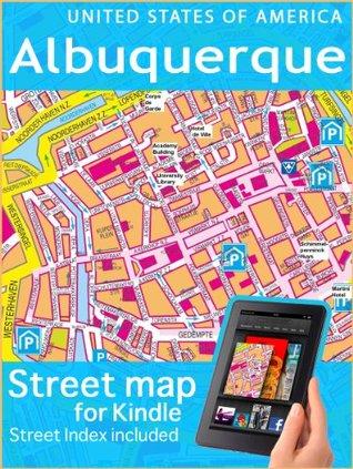 Map of Albuquerque