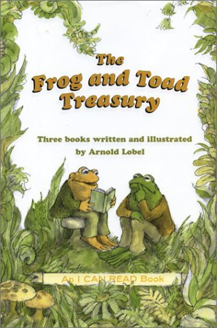 The Frog and Toad Treasury: Frog and Toad are Friends/Frog and Toad Together/Frog and Toad All Year(Frog and Toad 1-4)