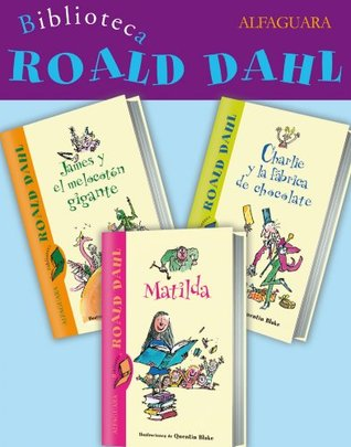 Biblioteca Roald Dahl: 3 ebooks