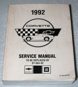 1992 Chevrolet Corvette Factory Service Manual