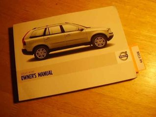 2008 Volvo XC90 Owners Manual by Volvo