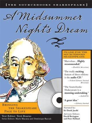 A Midsummer Night's Dream (Sourcebooks  Shakespeare; Book & CD)