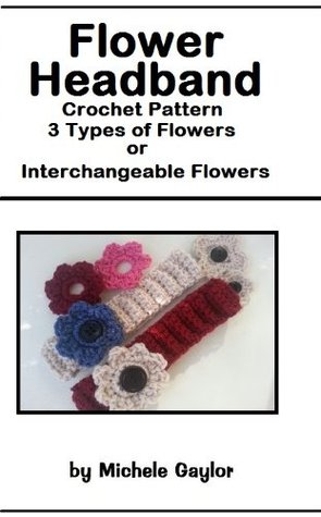 Flower Headband: Crochet Pattern