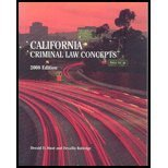 California Criminal Law Concepts 2008 Edition