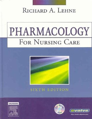 Pharmacology For Nurses Ebook