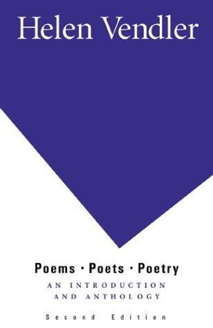 Poems, Poets, Poetry by Helen Vendler