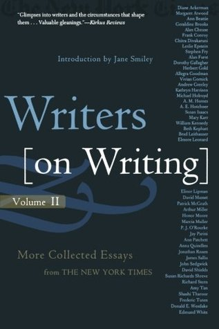 Writers on Writing, Volume II: More Collected Essays from The New York Times