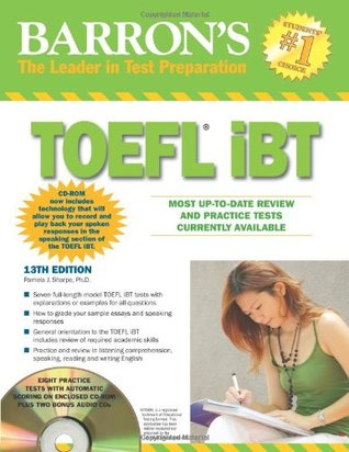 Barron's TOEFL iBT with CD-ROM and 2 Audio CDs (Barron's TOEFL IBT