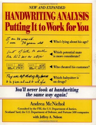 Handwriting Analysis Karen Amend Pdf