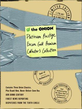The Onion Platinum Prestige Encore Gold Premium Collector's C... by The Onion
