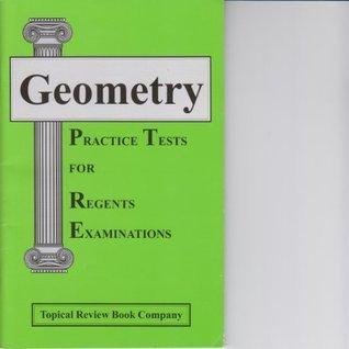 Geometry Practice Tests for Regents Examinations