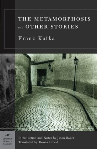 The cover of The Metamorphosis and Other Stories by Franz Kafka