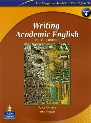 Writing academic english by alice oshima writing academic english fandeluxe Gallery
