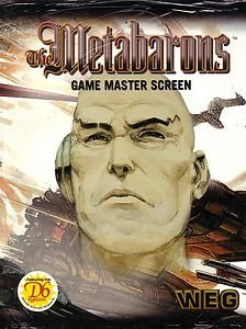 The Metabarons RPG Screen