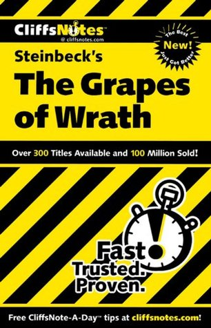CliffsNotes on Steinbeck's The Grapes of Wrath by Kelly McGrath Vlcek