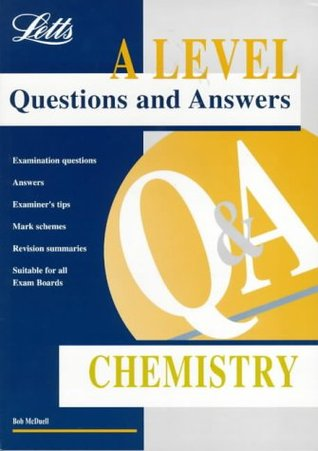 A-level Questions and Answers Chemistry ('A' Level Questions and Answers Series)