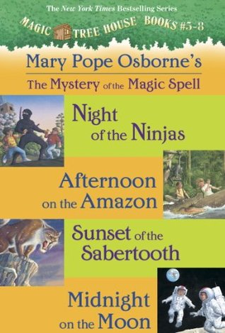 Magic Tree House: #5-8 [Collection: Mystery of the Magic Spells]