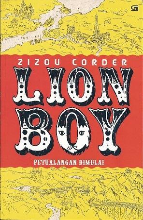 Lion Boy: Petualangan Dimulai (Lion Boy, #1)