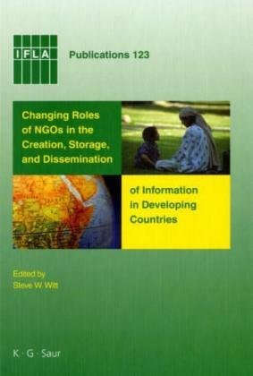 IFLA 123: Changing Roles Of NGO's In Developing Countries