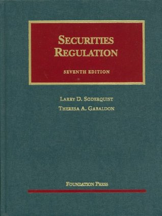 Securities Regulation: Cases and Materials