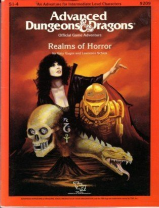 Realms of Horror (Advanced Dungeons and Dragons Module S1-4)