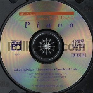 Alfred's Basic Piano Course CD for Lesson Book: Level 2 (CD) (Alfred's Basic Piano Library)