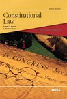 Black Letter Outline on Constitutional Law, 9th