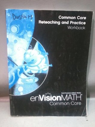Math 2012 Common Core Reteaching and Practice Workbook Grade 1