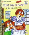 Just Say Please (Little Golden Book)
