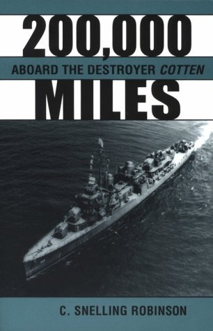 Libros gratis descargar audiolibros 200,000 Miles Aboard the Destroyer Cotten