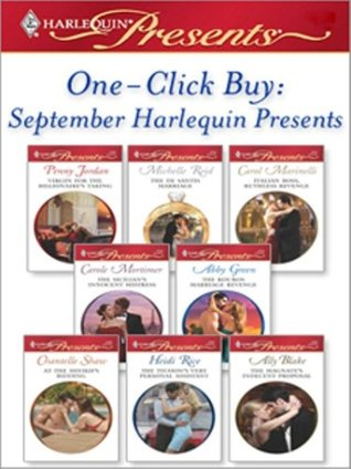 One-Click Buy: September 2008 Harlequin Presents