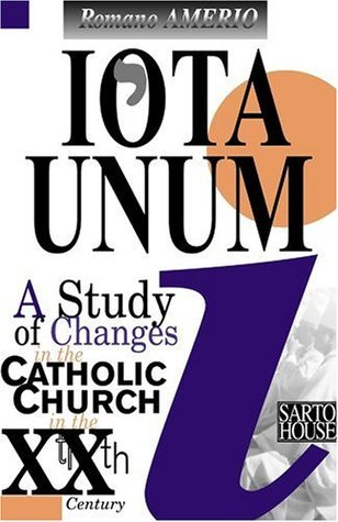Iota Unum: A Study of Changes in the Catholic Church in the Twentieth Century