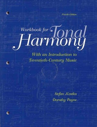 Student Workbook and CD for Use with Tonal Harmony