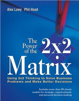 The Power of the 2x2 Matrix: Using 2x2 Thinking to Solve Business Problems and Make Better Decisions