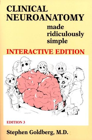 Clinical Neuroanatomy Made Ridiculously Simple Book Cd Rom By