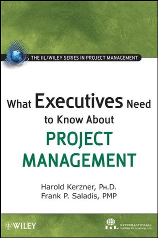 What Executives Need to Know About Project Management (The IIL/Wiley Series in Project Management)