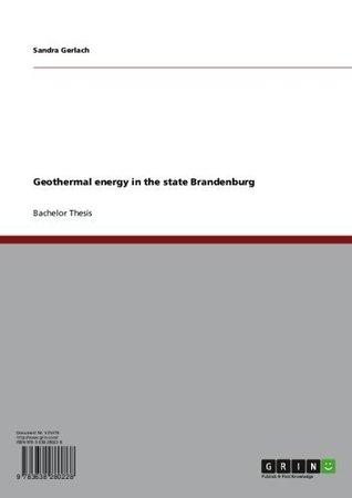 Geothermal energy in the state Brandenburg