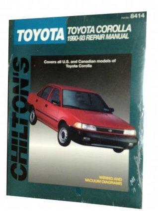 Chilton's Toyota Corolla 1990-93 Repair Manual