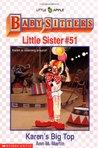 Karen's Big Top (Baby-Sitters Little Sister, #51)