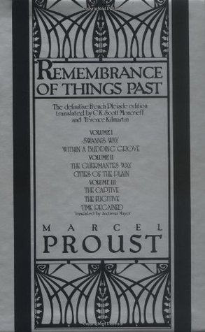 Remembrance of Things Past Volumes 1-3 Box Set by Marcel Proust